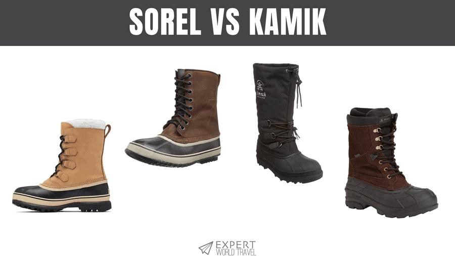 Sorel vs Kamik: How To Choose A Great