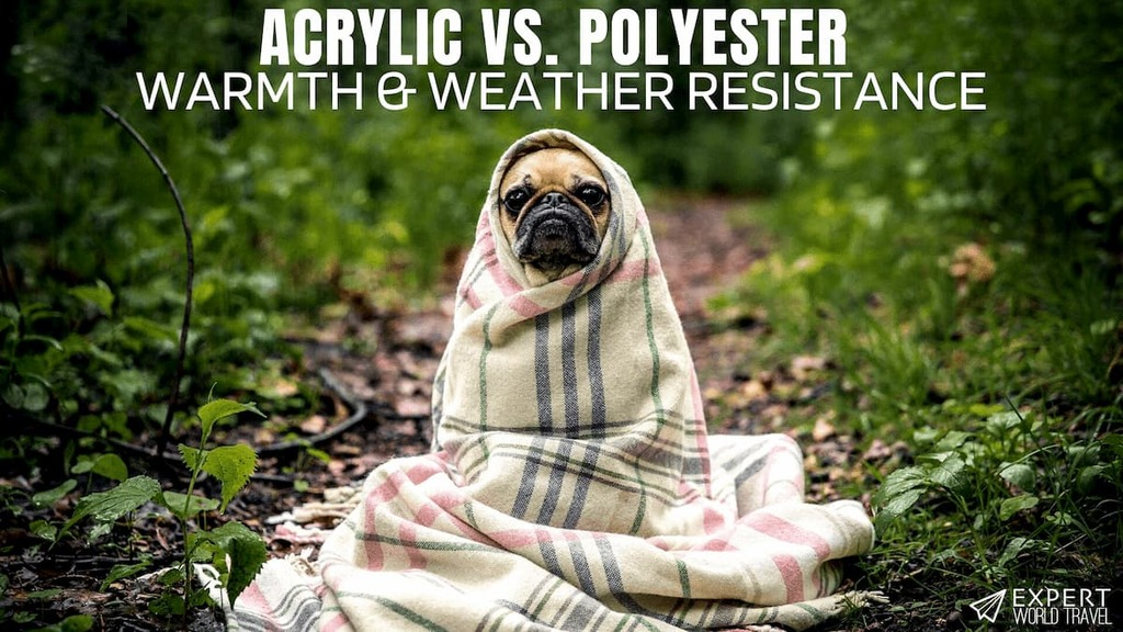 acrylic vs polyester material