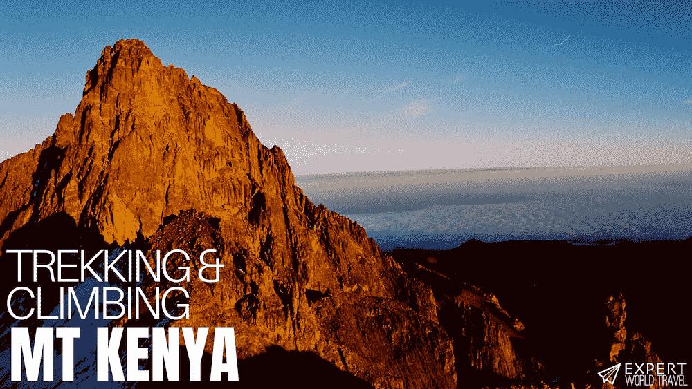 Trekking & Climbing Mount Kenya