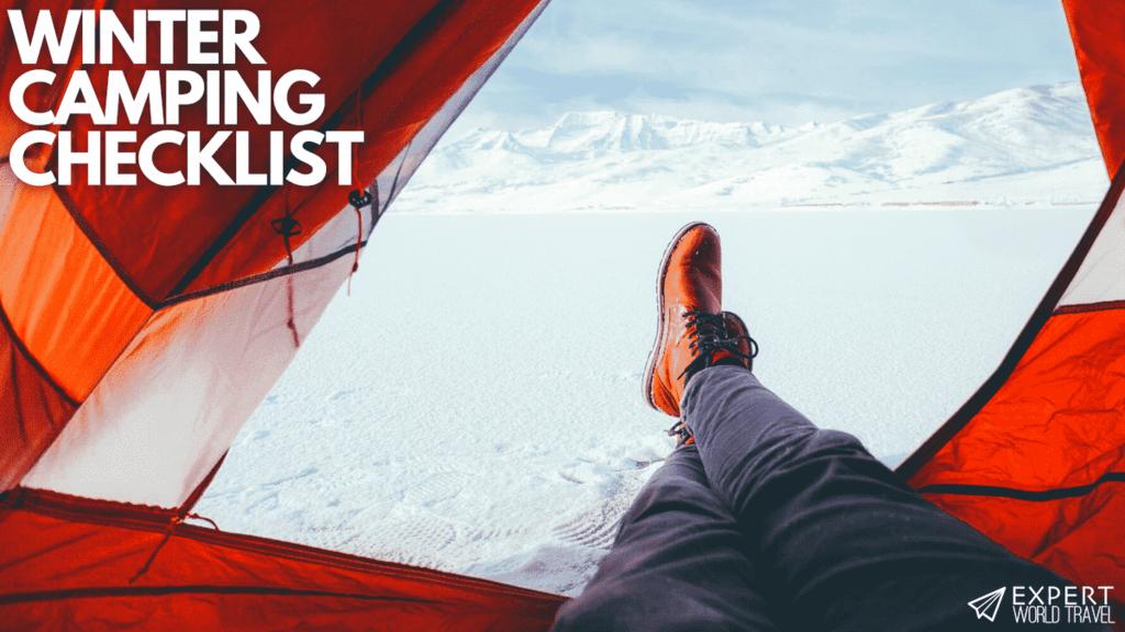 winter camping checklist