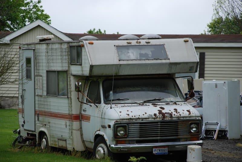 Campervan Rust