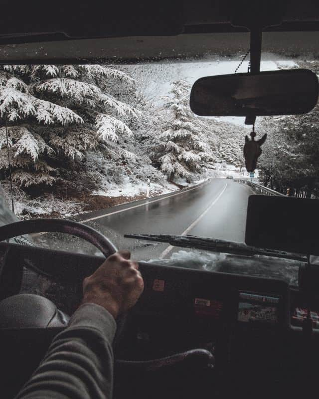Driving Motorhome