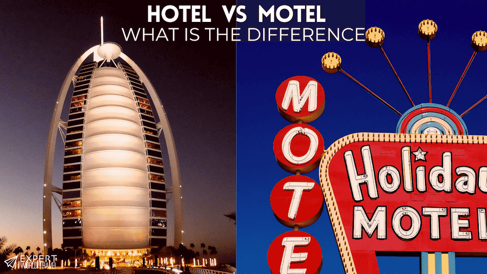 hotel vs motel difference