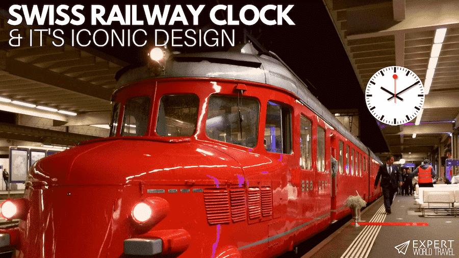 swiss railway clock design