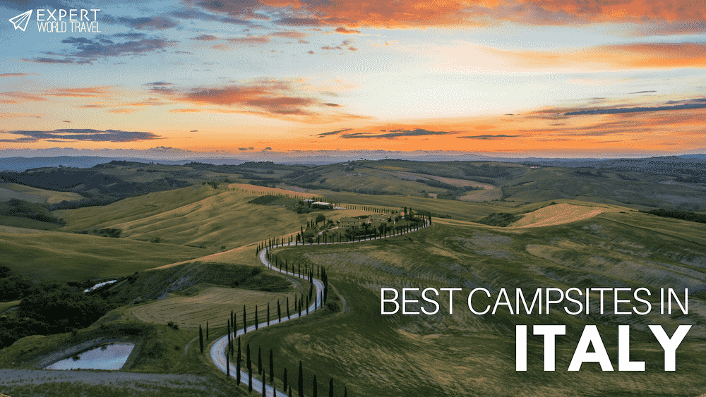 best campsites in italy