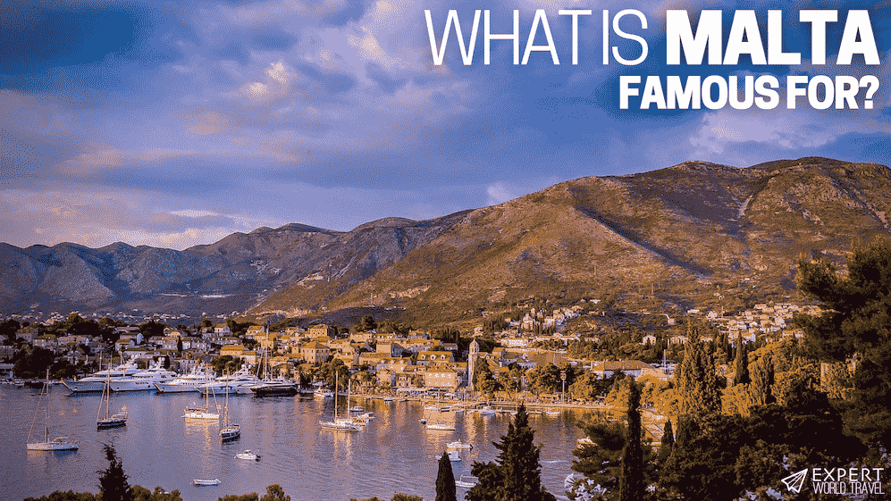what is malta famous for
