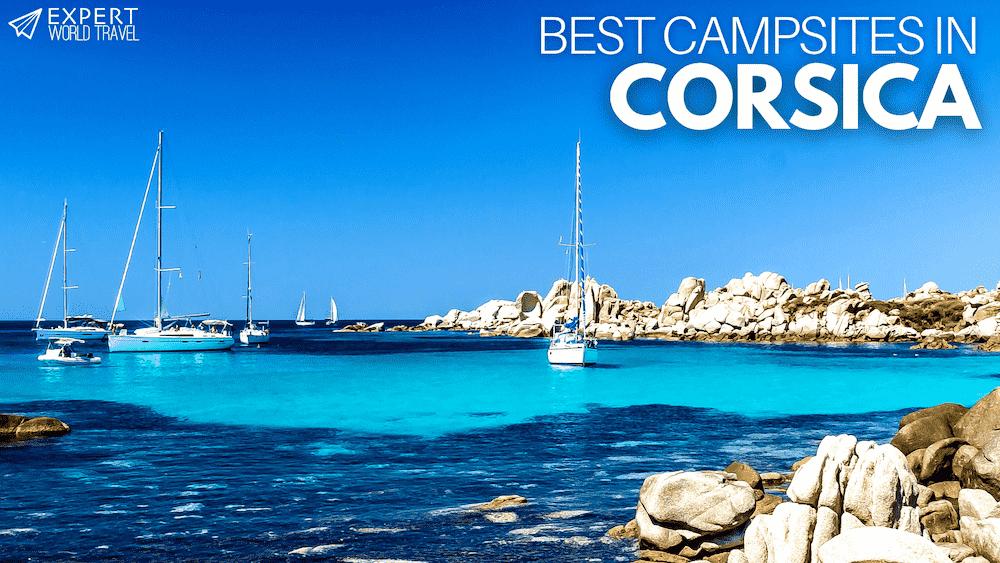 best campsites in corsica