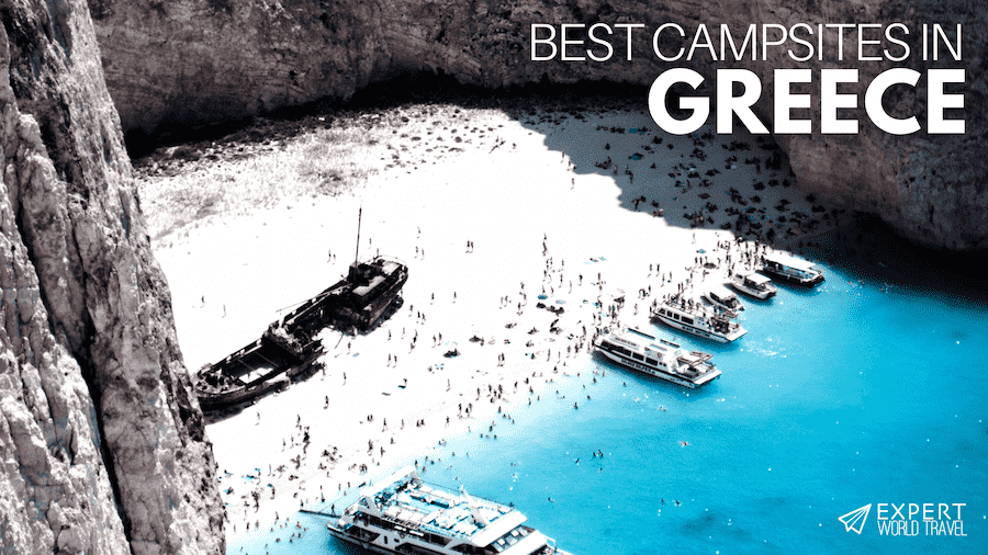 best campsites in greece