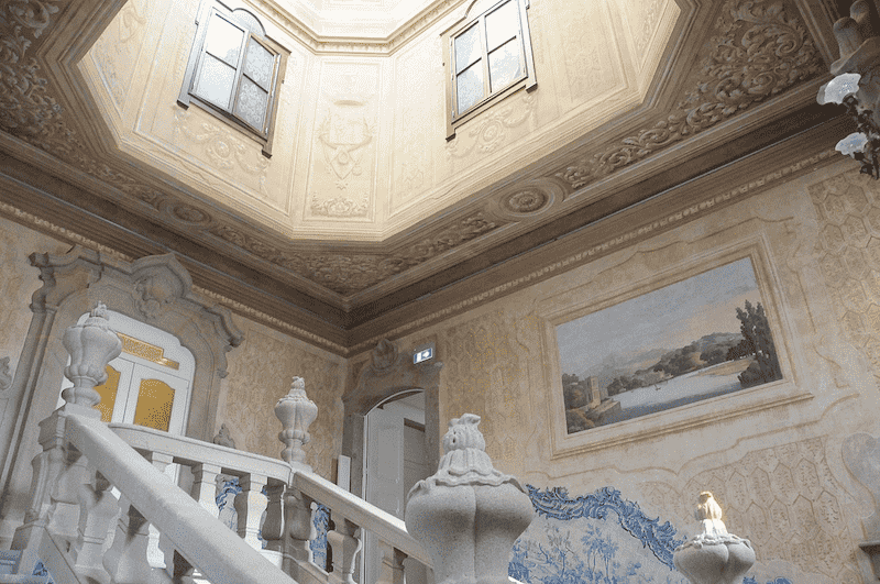 Stairs in Raio Palace