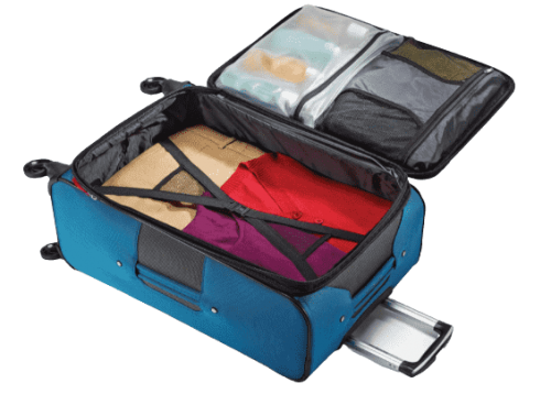 Samsonite Aspire Xlite Review Packing Compartment