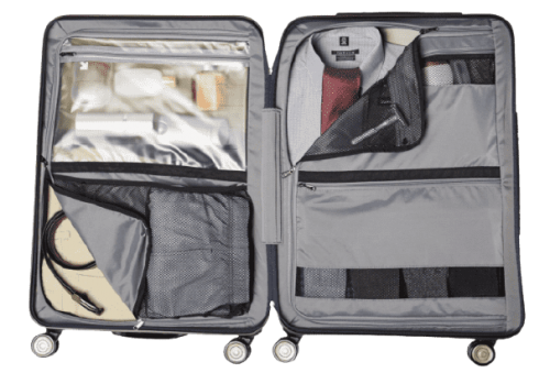 Travelpro Crew11 Review Hardside Two Packing Compartment