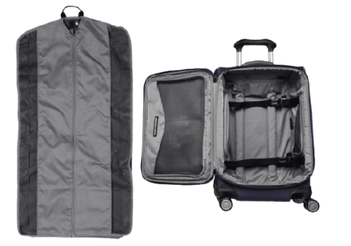 Travelpro Crew11 Review Softside Packing Compartment