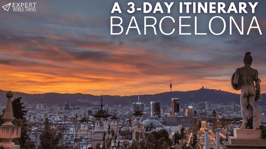 barcelona 3 day itinerary