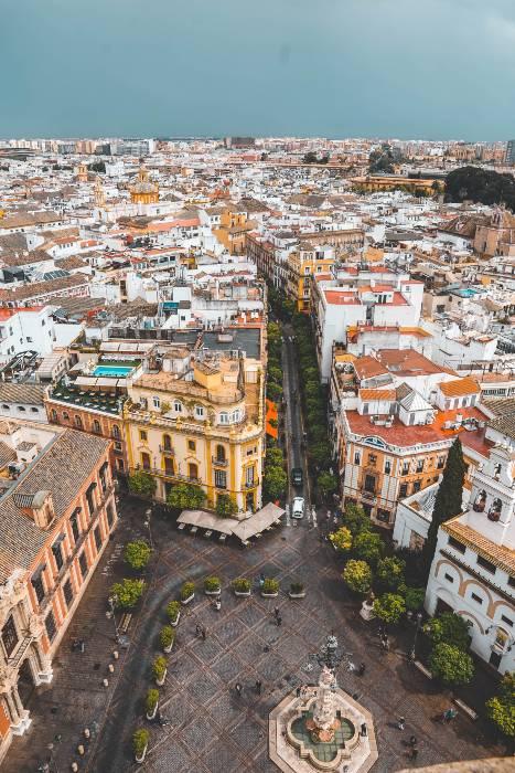 Spain Aerial Madrid