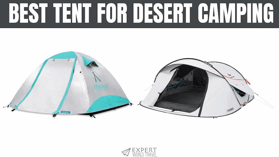 best tent for desert camping