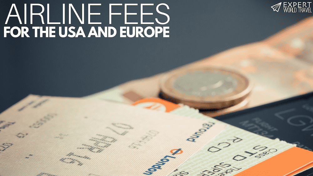 airline fees bags seats food other