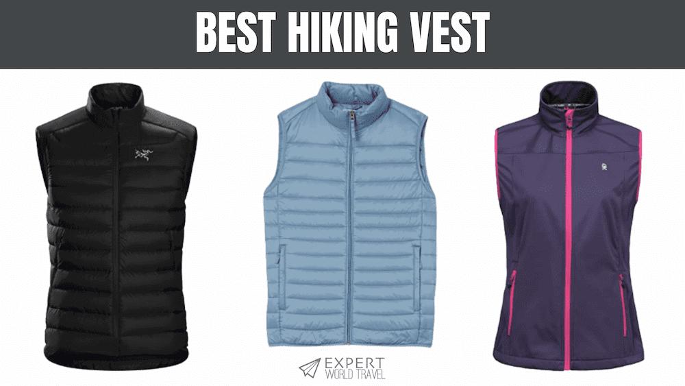 best hiking vest