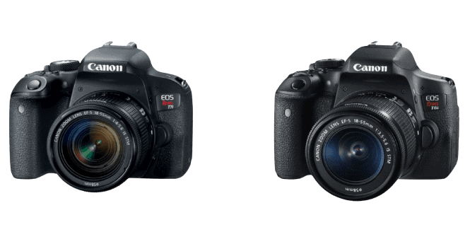 canon eos rebel t7i t6i review