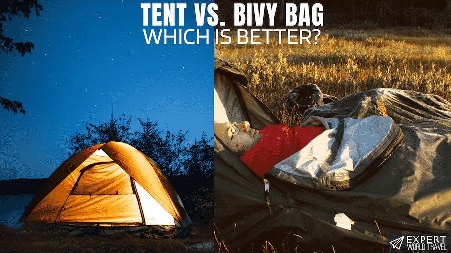 tent vs bivy