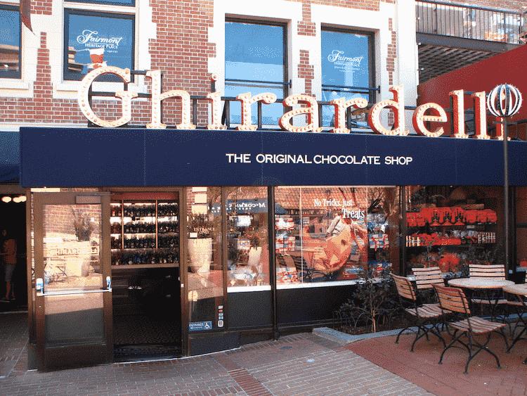 Ghirardelli Shop