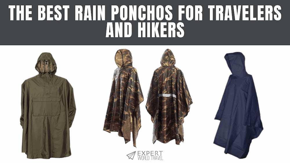 The Best Rain Ponchos
