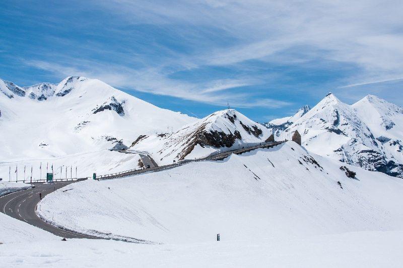Austria Snow Road