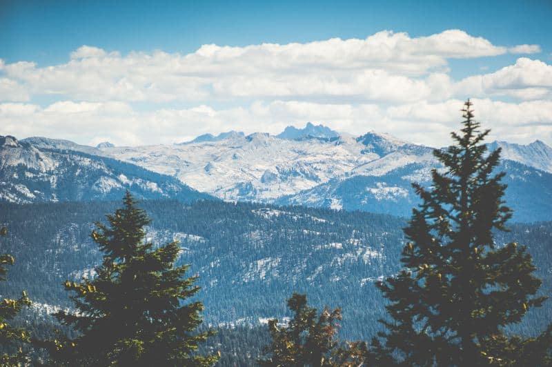 Sequoia National Park Winter