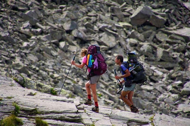 Sweaty Hikers
