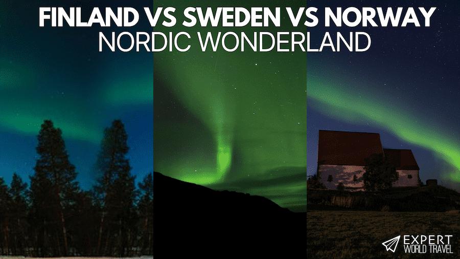 Finland vs Sweden vs Norway