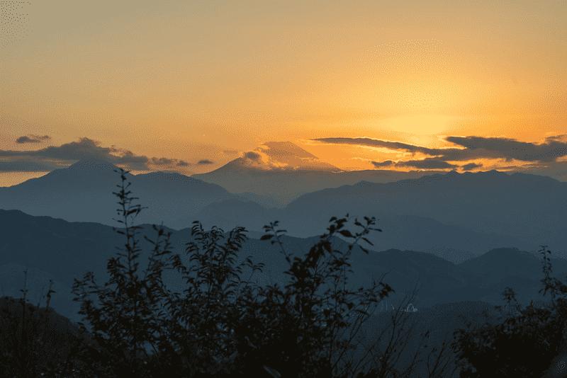 Mt Fuji - Mt Takao