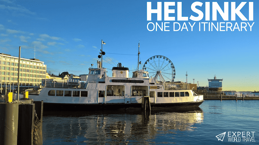 one day itinerary in helsinki