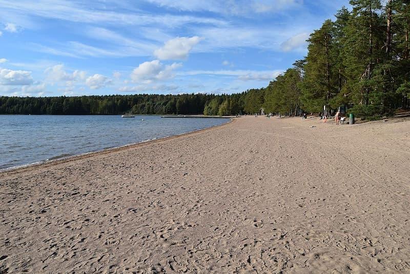 Sääksjärvi Nurmijärvi) beach