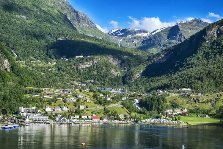 Bergen Mountains