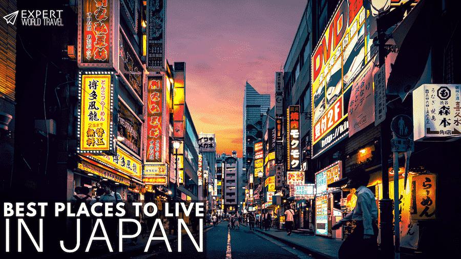 best places live japan