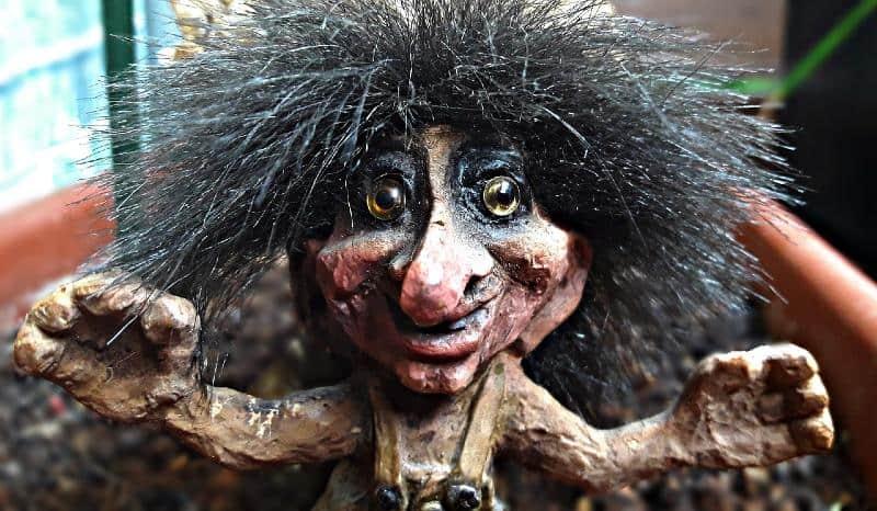 Troll Figure