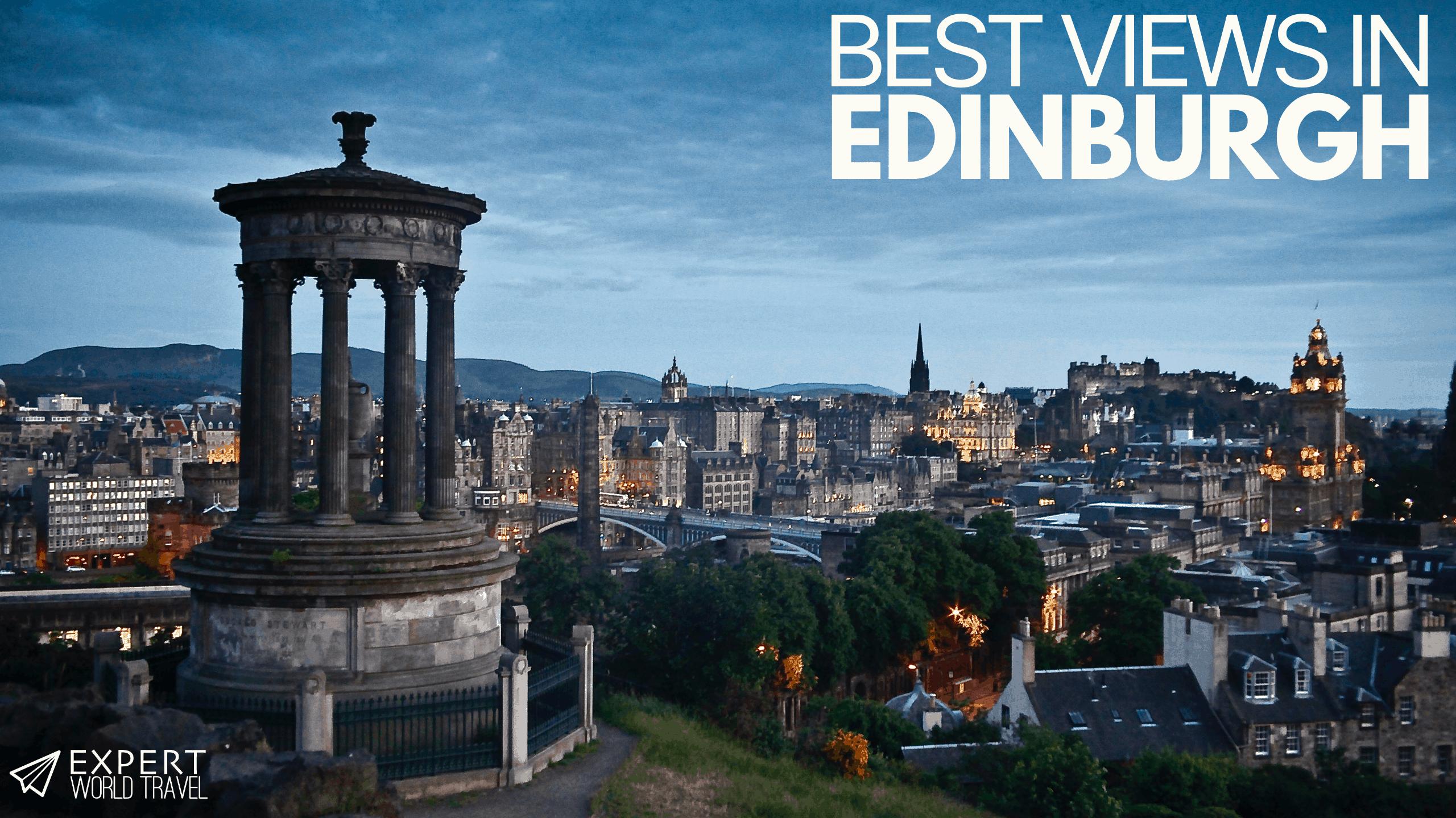 best views in Edinburgh