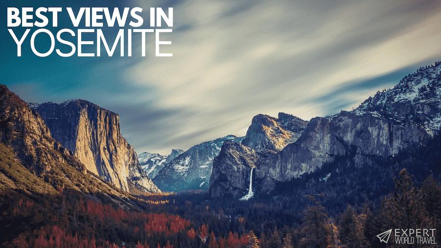 best views in yosemite