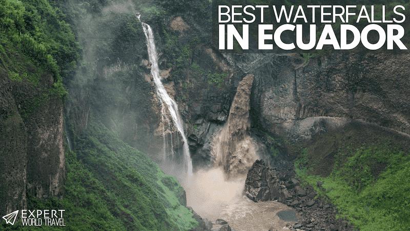 best waterfalls in Ecuador