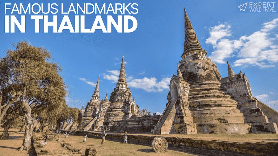famous landmarks in Thailand